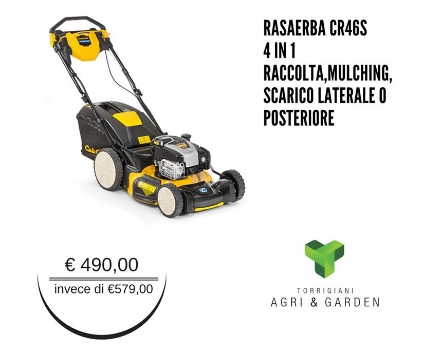 Rasaerba CR46S Cub Cadet 4 in 1 | Torrigiani Agri & Garden S.r.l.
