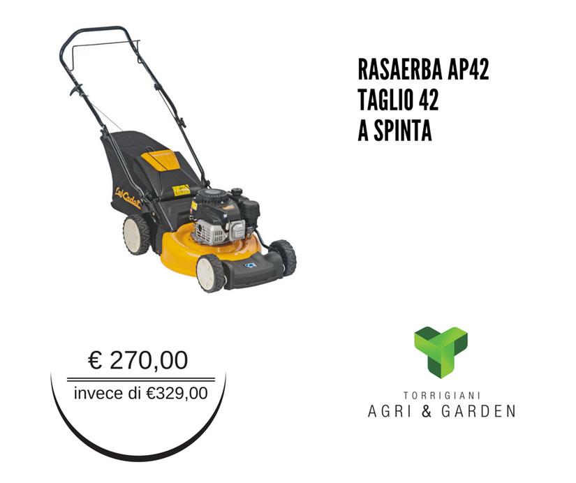 Rasaerba AP42 Cub Cadet taglio 42 a spinta | Torrigiani Agri & Garden S.r.l.