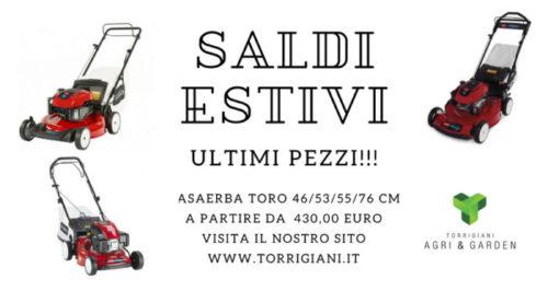 Rasaerba Toro | Torrigiani Agri & Garden S.r.l.