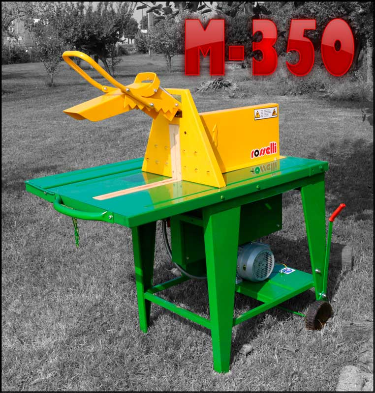 Banco sega elettrico M-350 Rosselli - Torrigiani Agri & Garden S.r.l.