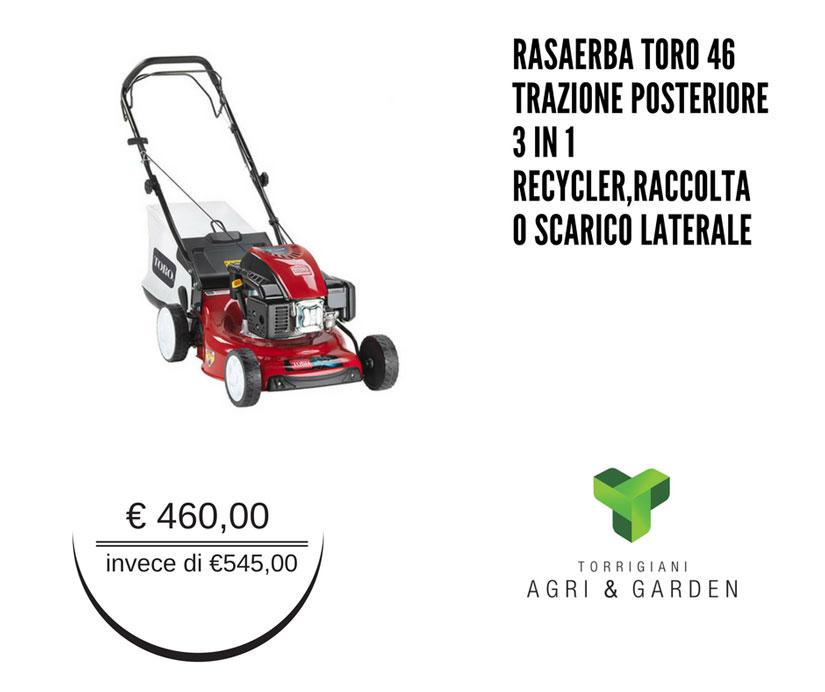 Rasaerba Toro 46 | Torrigiani Agri & Garden S.r.l.