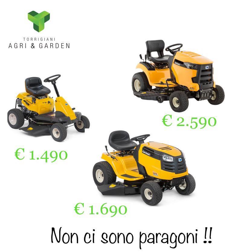 TRATTORINI RASAERBA CUB CADET | Torrigiani Agri & Garden S.r.l.